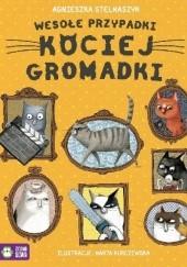 Okładka książki Wesołe przypadki kociej gromadki Agnieszka Stelmaszyk