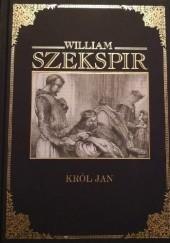 Okładka książki Król Jan William Shakespeare