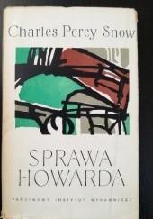 Okładka książki Sprawa Howarda Charles Percy Snow