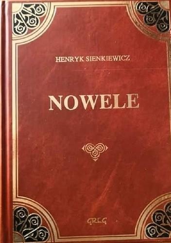 Okładka książki Nowele Henryk Sienkiewicz