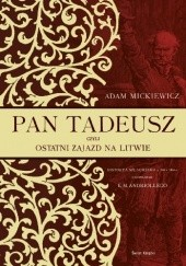 Okładka książki Pan Tadeusz Adam Mickiewicz