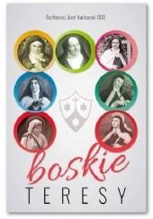 Okładka książki Boskie Teresy Bartłomiej Józef Kucharski OCD
