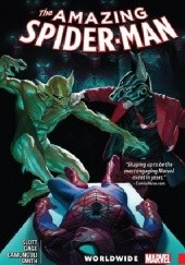 Okładka książki Amazing Spider-Man- Worldwide Vol.5 Alex Ross, Christos Gage, Dan Slott, Giuseppe Camuncoli