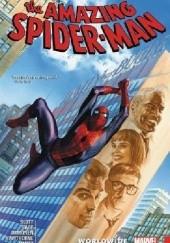 Okładka książki Amazing Spider-Man- Worldwide Vol.8 Alex Ross,Christos Gage,Dan Slott,Stuart Immonen