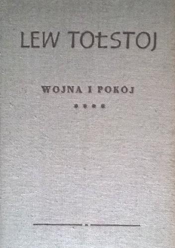 Okładka książki Wojna i Pokój Tom 4 Lew Tołstoj