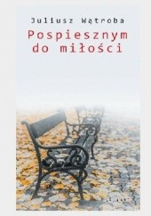 Okładka książki Pospiesznym do miłości Juliusz Wątroba