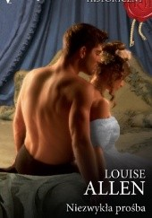 Okładka książki Niezwykła prośba Louise Allen