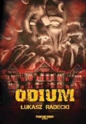 Okładka książki Odium Łukasz Radecki