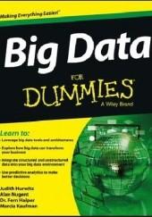 Okładka książki Big Data For Dummies Judith Hurwitz