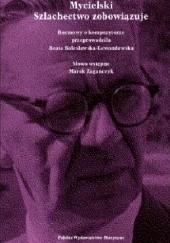 Okładka książki Mycielski. Szlachectwo zobowiązuje Beata Bolesławska-Lewandowska