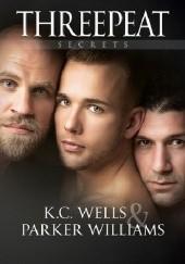 Okładka książki Threepeat K.C. Wells,Parker Williams