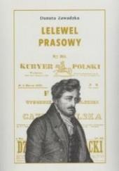 Okładka książki Lelewel prasowy Danuta Zawadzka