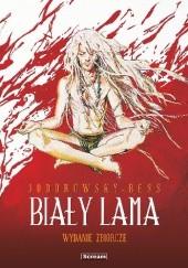 Okładka książki Biały Lama - wydanie zbiorcze Alexandro Jodorowsky