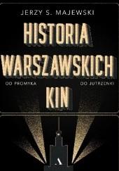 Okładka książki Historia warszawskich kin Jerzy S. Majewski