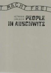 Okładka książki People in Auschwitz