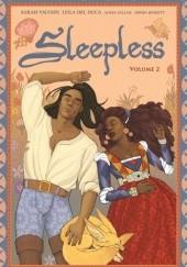 Okładka książki Sleepless Sarah Vaughn