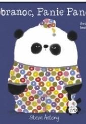 Okładka książki Dobranoc, Panie Panda