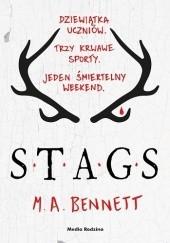 Okładka książki STAGS M. A. Bennett