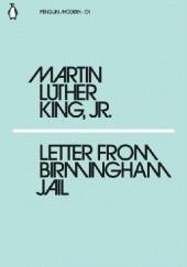 Okładka książki Letter from Birmingham Jail Martin Luther King