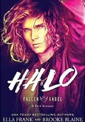 Okładka książki Halo Ella Frank,Brooke Blaine
