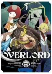 Okładka książki Overlord #5 Maruyama Kugane,Fugin Miyama