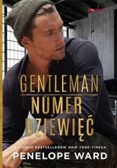 Okładka książki Gentleman numer dziewięć Penelope Ward