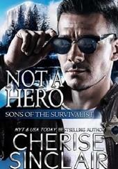 Okładka książki Not a Hero Cherise Sinclair