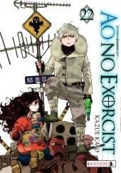 Okładka książki Ao No Exorcist 22 Kato Kazue