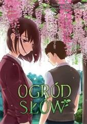Okładka książki Ogród słów Makoto Shinkai,Midori Motohashi