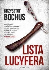 Okładka książki Lista Lucyfera Krzysztof Bochus