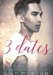 Okładka książki 3 Dates Lily Morton