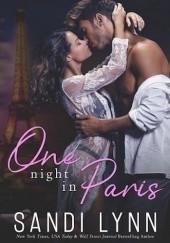 Okładka książki One Night In Paris Sandi Lynn