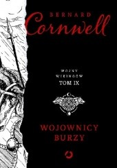 Okładka książki Wojownicy burzy Bernard Cornwell