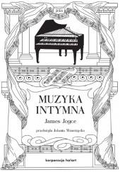 Okładka książki Muzyka intymna James Joyce