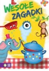Okładka książki Wesołe zagadki Marcin Przewoźniak