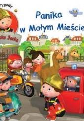Okładka książki Panika w Małym Mieście Nathalie Bélineau