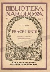 Okładka książki Prace i dnie Hezjod z Beocji