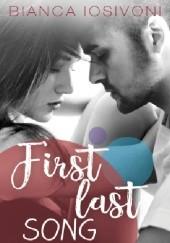Okładka książki First last song Bianca Iosivoni