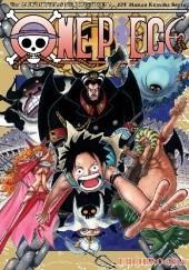 Okładka książki One Piece tom 54 - Już nic go nie powstrzyma Eiichiro Oda