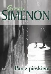 Okładka książki Pan z pieskiem Georges Simenon