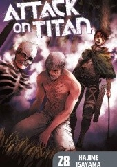 Okładka książki Attack on Titan #28 Isayama Hajime