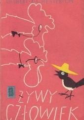 Okładka książki Żywy człowiek Gilbert Keith Chesterton