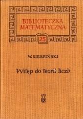 Okładka książki Wstęp do teorii liczb Wacław Sierpiński