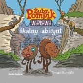 Okładka książki Żubr Pompik. Wyprawy. Skalny labirynt Tomasz Samojlik