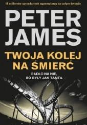 Okładka książki Twoja kolej na śmierć Peter James