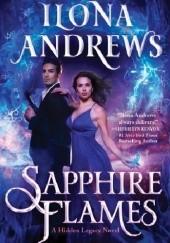 Okładka książki Sapphire Flames Ilona Andrews