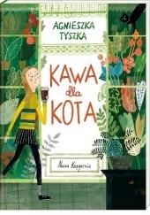 Okładka książki Kawa dla kota Agnieszka Tyszka