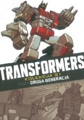 Okładka książki Transformers #4: Druga generacja Simon Furman,Graham Nolan,Len Kaminski,Barry Kitson,Bob Budiansky,Don Perlin,Will Simpson,John Stokes