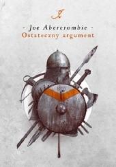 Okładka książki Ostateczny argument Joe Abercrombie
