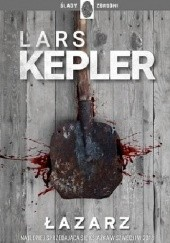 Okładka książki Łazarz Lars Kepler
